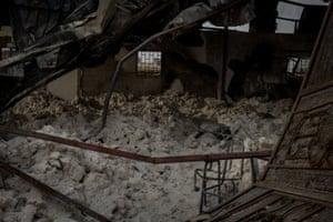 Al-Molukzam educational training institute in Sa'ada was hit many times