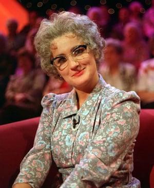 Caroline Aherne as Mrs Merton on The Mrs Merton Show