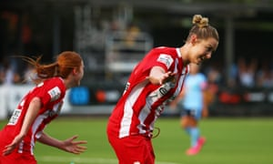 World Cup player Larissa Crummer was on the scoresheet for Melbourne City in their opening-round demolition of Sydney FC.
