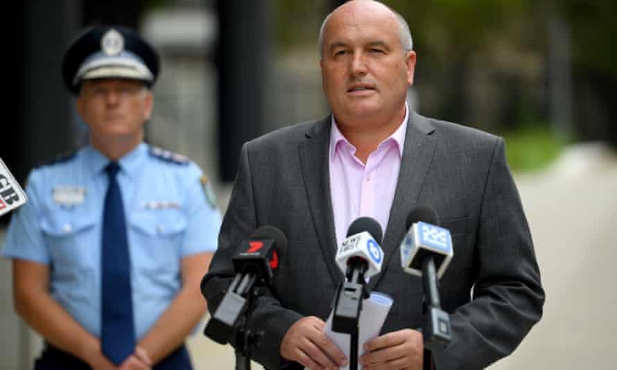 The NSW police minister, David Elliott