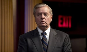 Lindsey Graham is among the Republicans who have attacked extra unemployment benefits
