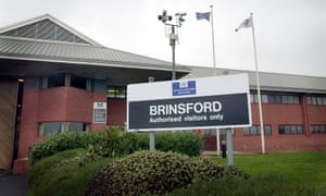 Brinsford young offender institution near Wolverhampton