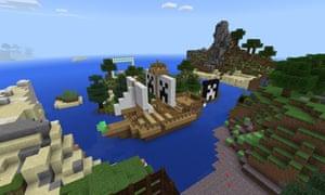 Litcraft's Treasure Island.
