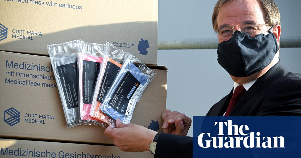 Wear medical-grade masks if you can't self-isolate, Britons told