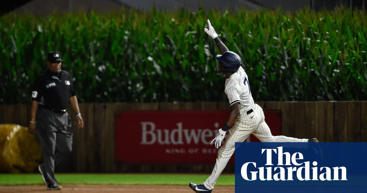Field of Dreams game: Tim Anderson's walk-off homer offers Hollywood ending