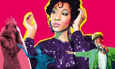 Indya Moore; MJ Rodriguez and Billy Porter in Pose.