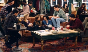 A scene from Friends