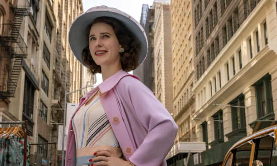 A scene from  Amazon Studios' The Marvelous Mrs Maisel