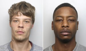 Ryan Coleman (L), who killed his girlfriend's daughter Evelyn-Rose Muggleton, and Raphael Kennedy who killed his son Dylan Tiffin-Brown.