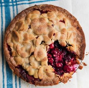 Nigel Slater's cherry pie.
