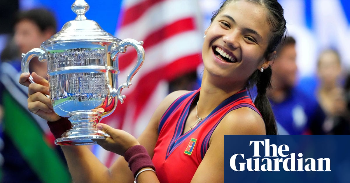 Emma Raducanu's win was a fantastic surprise – it must inspire a generation