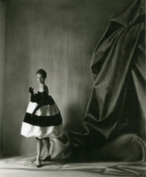 Cristobál Balenciaga: Peacock tail evening gown, AW 1958