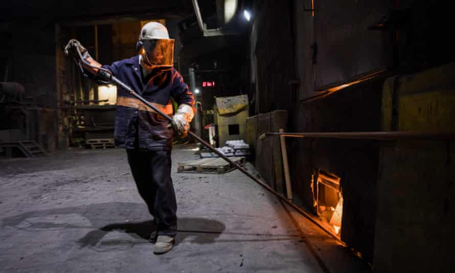 Operations At Liberty Steel Mills