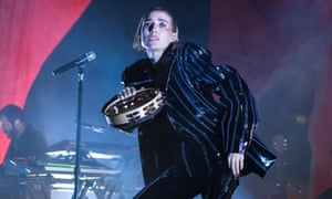 Fusing past and present … Lykke Li at Brixton Academy on Sunday.