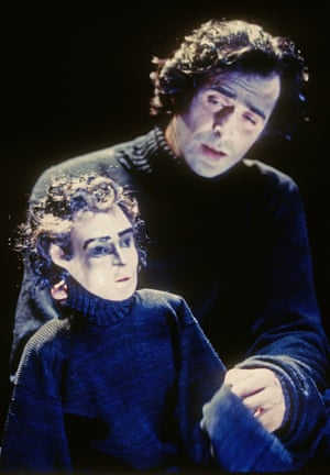 Rory Edwards (Hamlet) in a production adapted and directed by Julia Bardsley at the Young Vic, in 1994.
