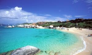 Virgin Gorda in the British Virgin Islands
