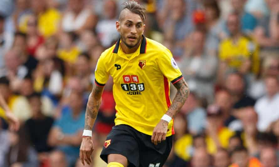 Pereyra came off the bench to make his Watford debut against Arsenal, and made his first start in the 4-2 win at West Ham last Saturday.