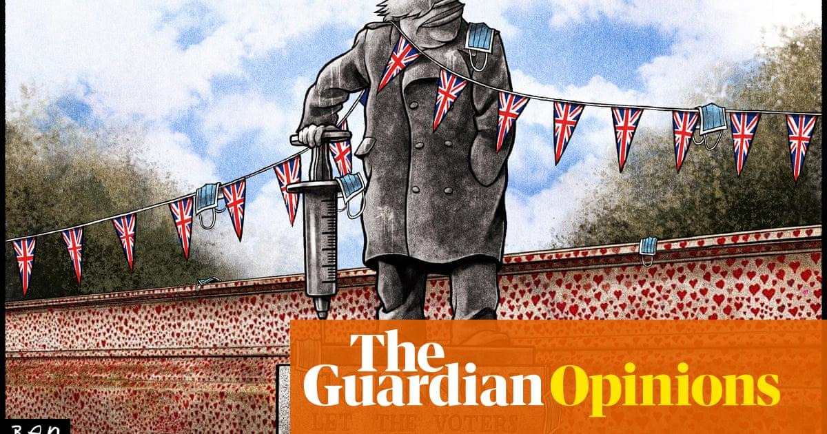 Ben Jennings on Boris Johnson's 'get Covid and live longer' message — cartoon