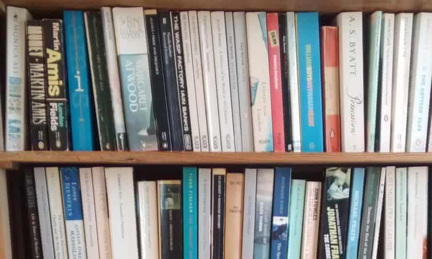 Patrick Barkham's bookshelf