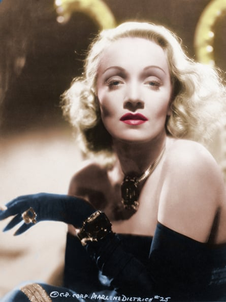In front of Josef von Sternberg's camera, Dietrich learned makeup, lighting and editing techniques that allowed her to stay in control of her image.