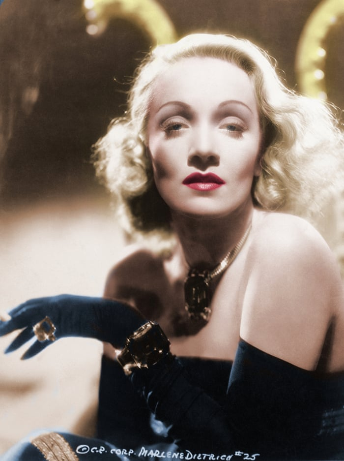 Still modern after all these years … Marlene Dietrich's ageless ...