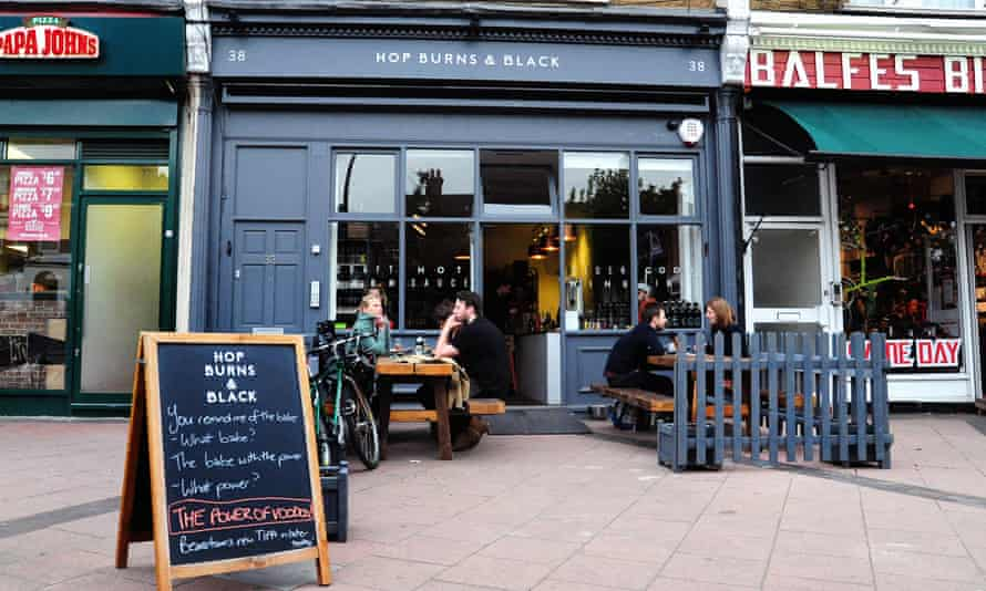 Hop Burns and Black, East Dulwich