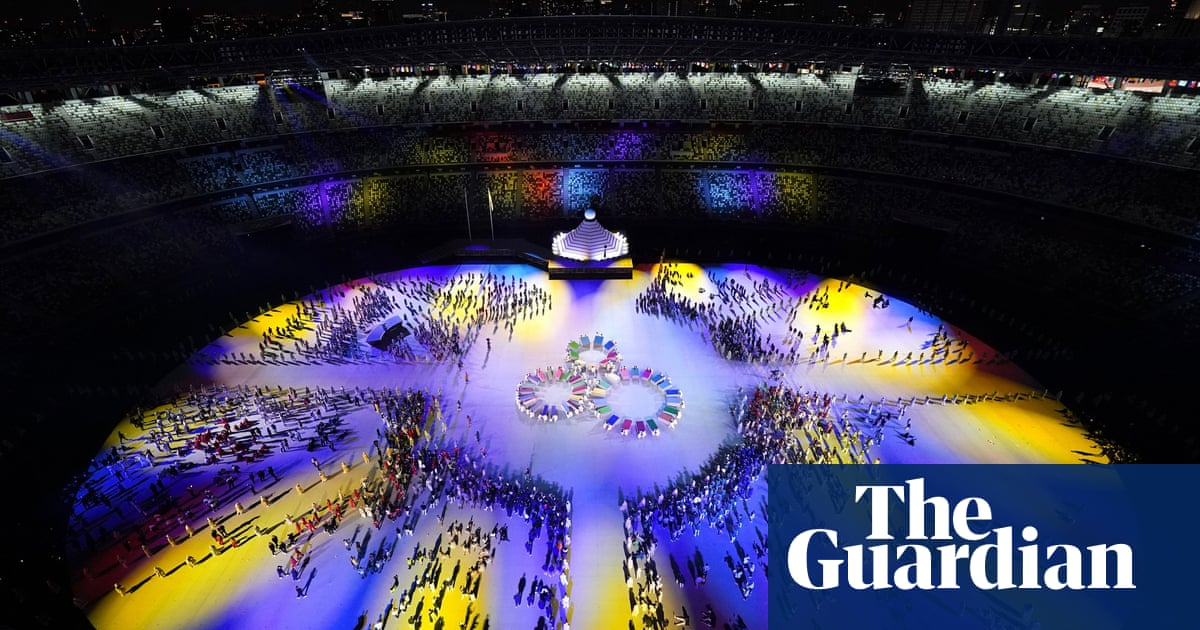Tokyo's opening ceremony plays it safe in extraordinary circumstances