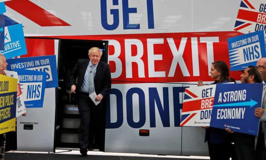 Boris Johnson in 2019.