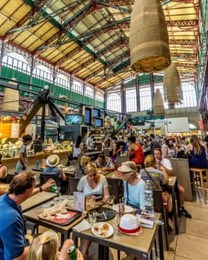 Mercato Centrale – the food hall at Florence's indoor market.