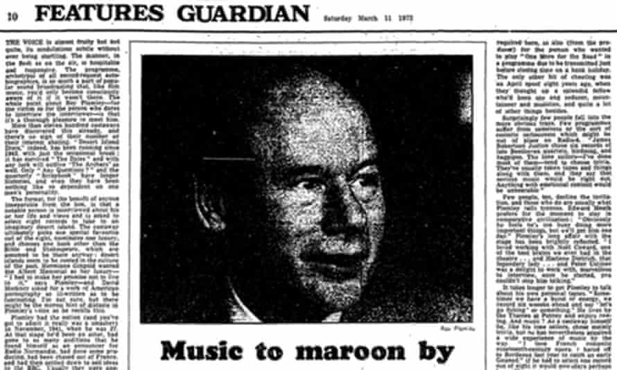 The Guardian, 11 March 1972