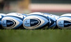 Official Premiership rugby balls