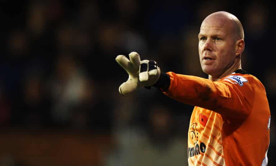 Brad Friedel during his time with Tottenham Hotspur. He made more than 450 appearances in the Premier League