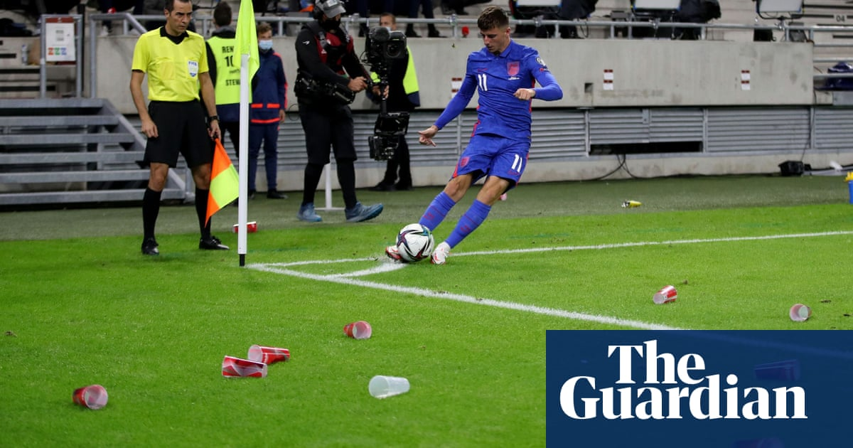 'Killer instinct': England players made stronger by hostile Hungary crowd