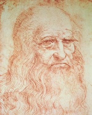 Leonardo Da Vinci's self-portrait.