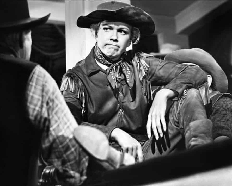 Doris Day as the wild west heroine in Calamity Jane, 1953.