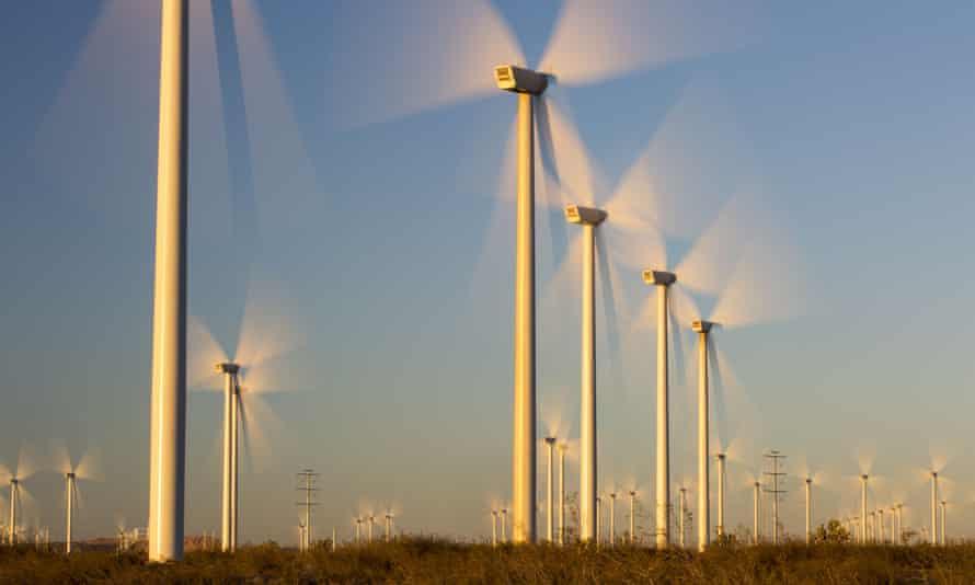 Tehachapi Pass wind farm, California, US