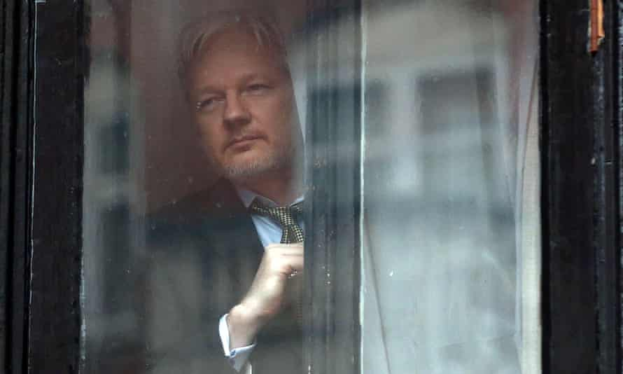 Leading up to the election, Julian Assange used his whistleblowing website to publish a cascade of emails connected to the Democratic party and the Clinton campaign.