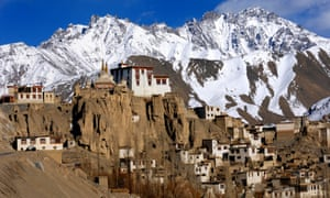 A Buddhist monastery in Ladakh, where Helena Norberg-Hodge has spent time since the 1970s