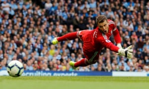 Fulham's Marcus Bettinelli impressed against Manchester City despite letting in three goals.