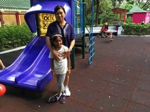 Vanessa Rodel and her daughter Keana