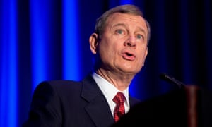 John Roberts. The chief justice has voted with conservatives on landmark rulings on voting rights, campaign finance, public unions and partial-birth abortion.