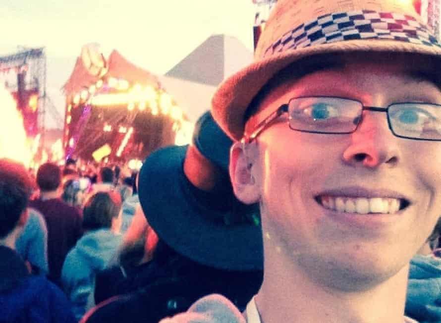 Liam O'Dell at Glastonbury
