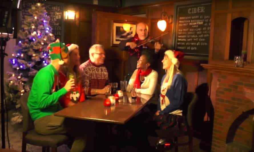 It's Christmas time, there's no need to be afraid ... Robb Johnson and the Corbynistas lead the charge.