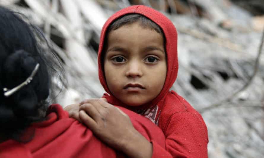 Child in Kathmandu