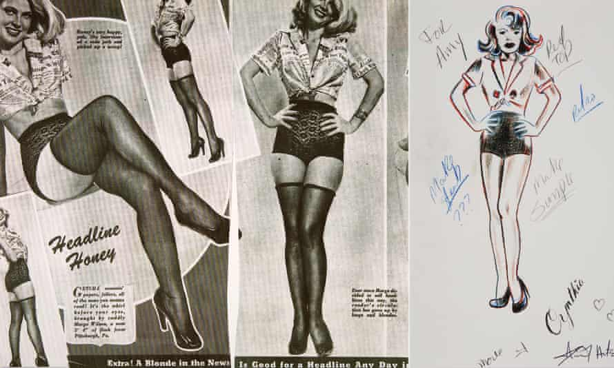 Inspiration for the design and the sketch for Amy's Cynthia tattoo