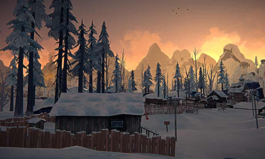 Teaching us to be better stewards of nature … The Long Dark.