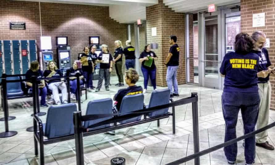 #ProjectOrange volunteers inside Harris county jail.