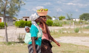 Two women in Botswana