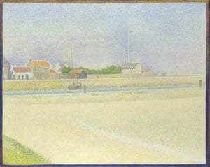 Georges Seurat – The Channel at Gravelines, Grand Fort-Philippe, 1890