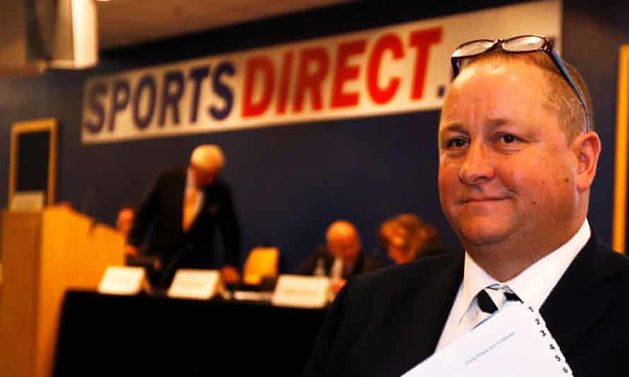 Mike Ashley's Frasers Group also owns Sports Direct.